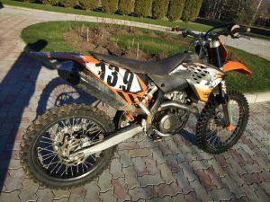 прокат мотоцикла ktm sx 500